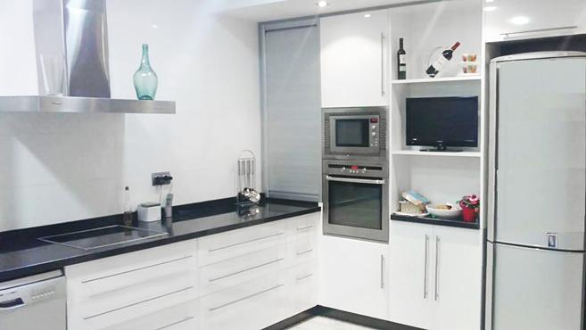 Tipos de muebles en la cocina muebles cocinas - Armarios de cocina en kit ...