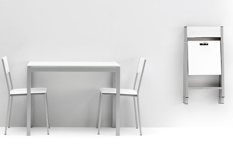 Tipos de muebles en la cocina muebles cocinas for Mesas extensibles y sillas de cocina