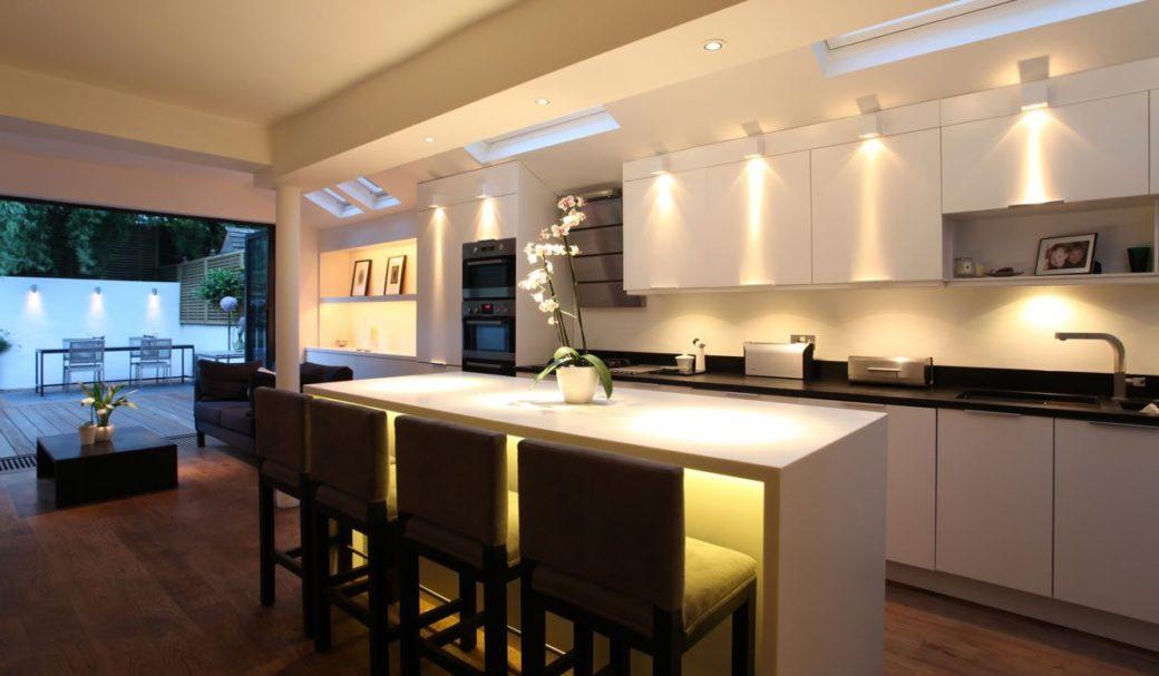 iluminacion cocinas