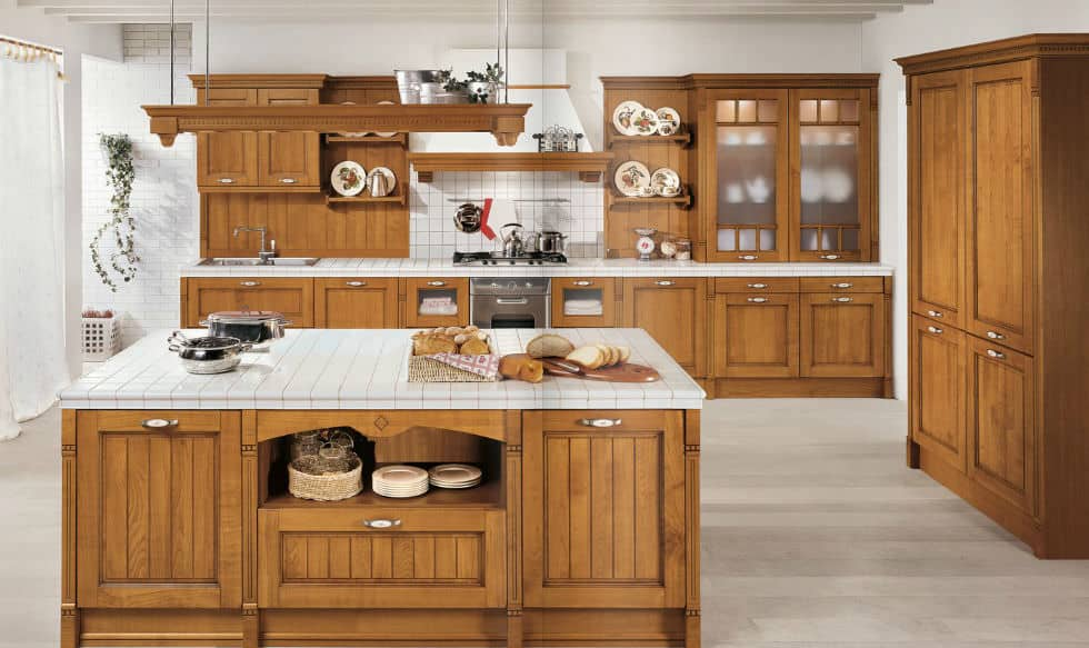 cocinas madera
